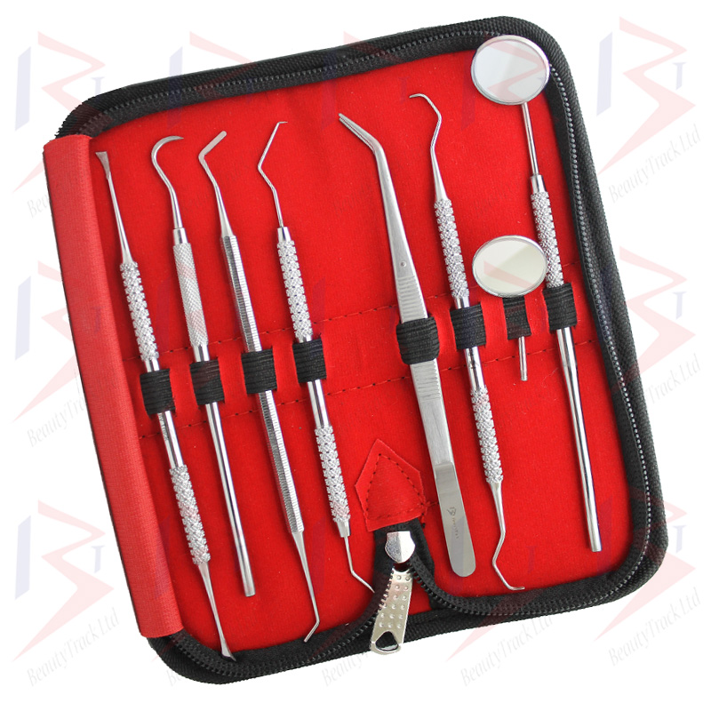 Dental Tartar Calculus Plaque Remover Kit Dentist Tooth Cleaning P8 3