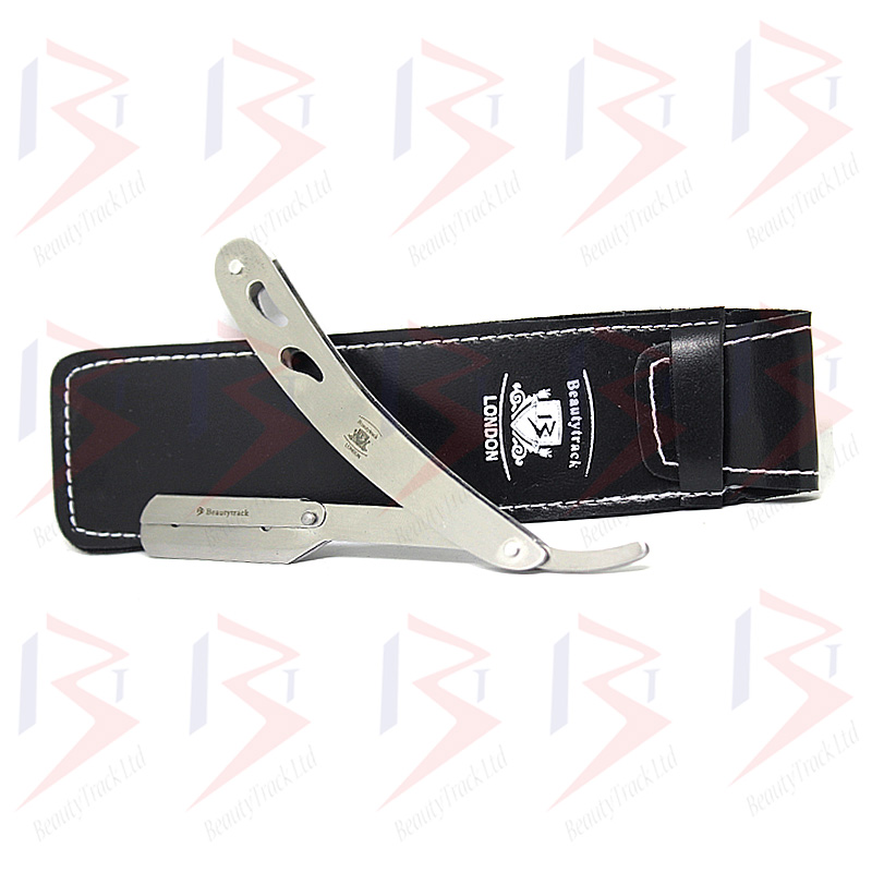 BeautyTrack Barber Razor Cut Throat Shaving Salon Steel RSC-243 3