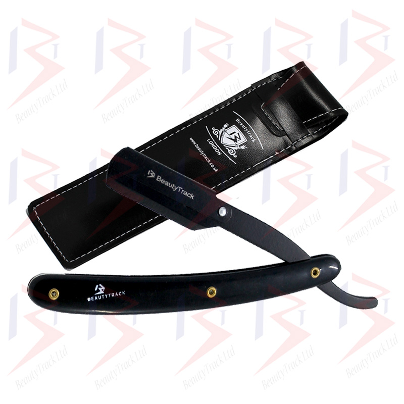BeautyTrack Barber Straight Wet Shaving Cut Throat Barber Razor 1