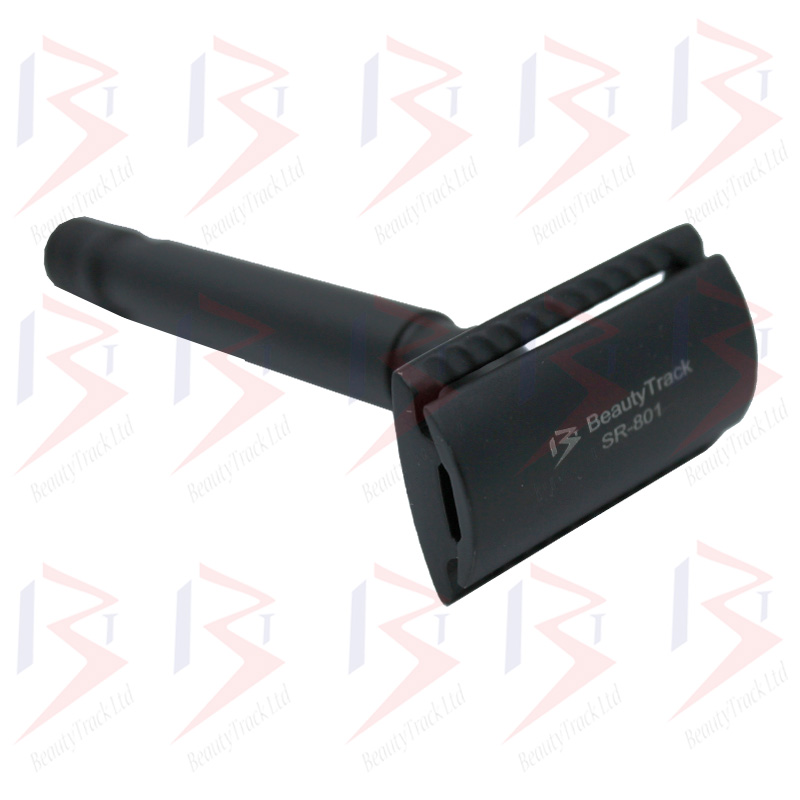 BeautyTrack Classic Safety Razor DE Stainless Steel Black 2