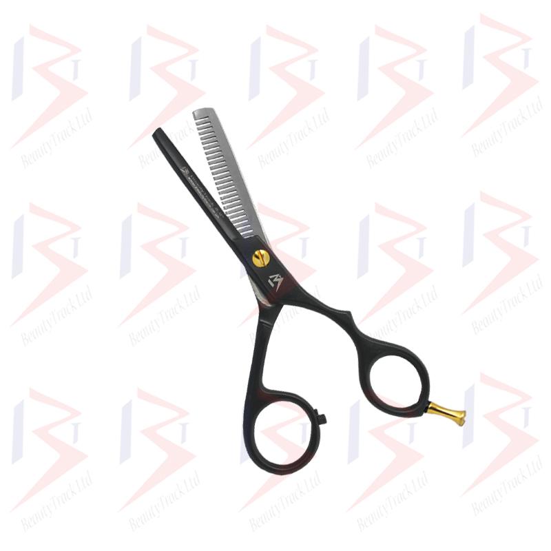 BeautyTrack Hairdressing Scissor Set Barber Thinning Salon 5.5 Inch Black 1