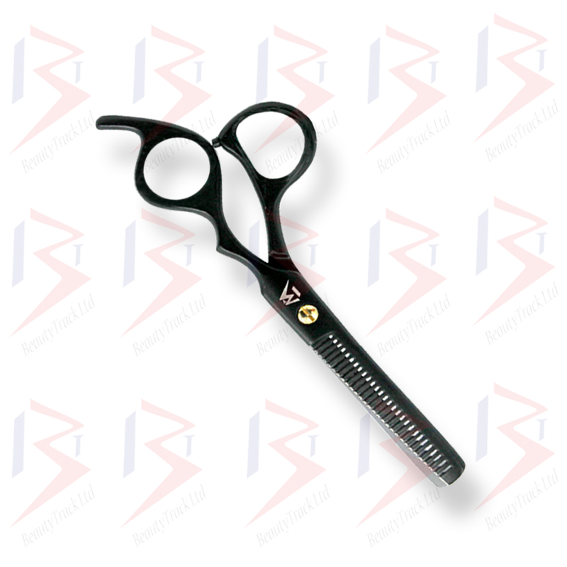 BeautyTrack Hairdressing Scissors Set Cobra Style Shears Black 6.0 Inch 2