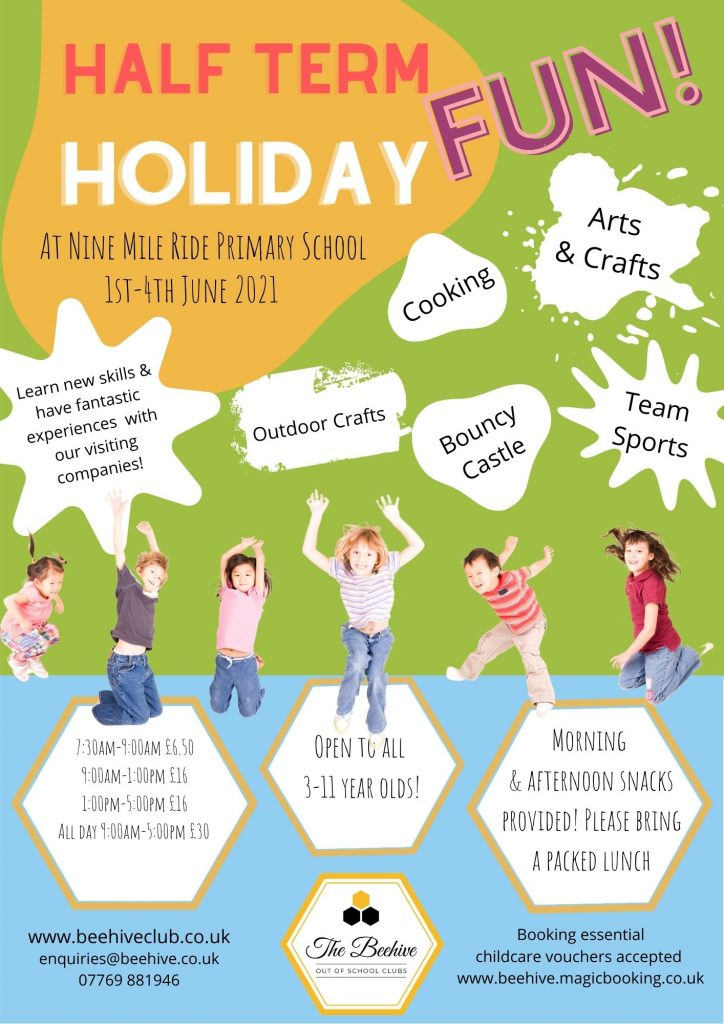 The Beehive Club May Half Term Holiday Club