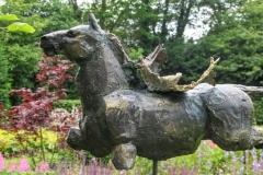 Pegasus    Steenmoetel-brons