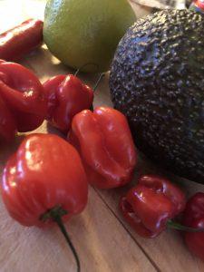 Chilisalsa - habanero