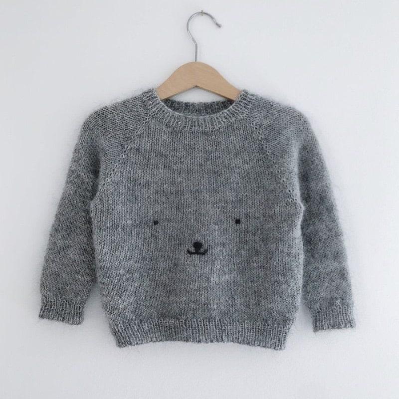 strik opskrifter bamse sweater