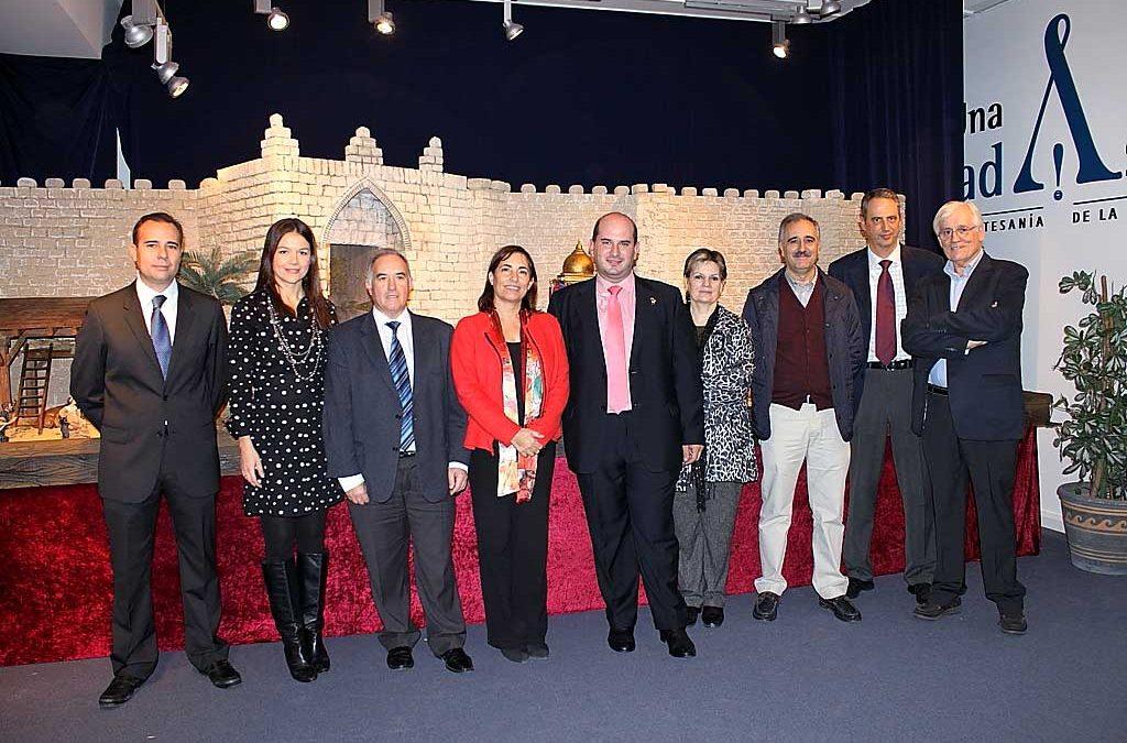 Inauguración del belén Centro de Artesanía de la Comunidad Valenciana