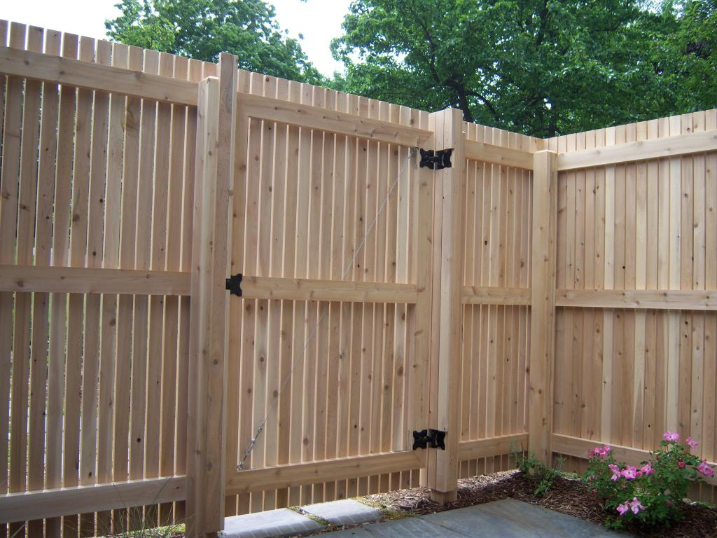 exterior carpentry_garden_gate_Wooden_Fence
