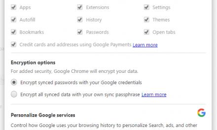 How to backup Google Chrome Settings