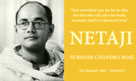 NETAJI SUBHASH CHANDRA BOSE – THE PHILOSOPHER