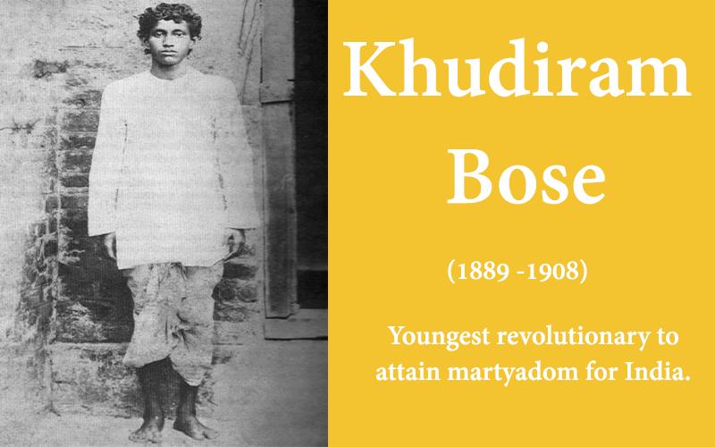 Khudiram Bose the boy revolutionary who smiled at death