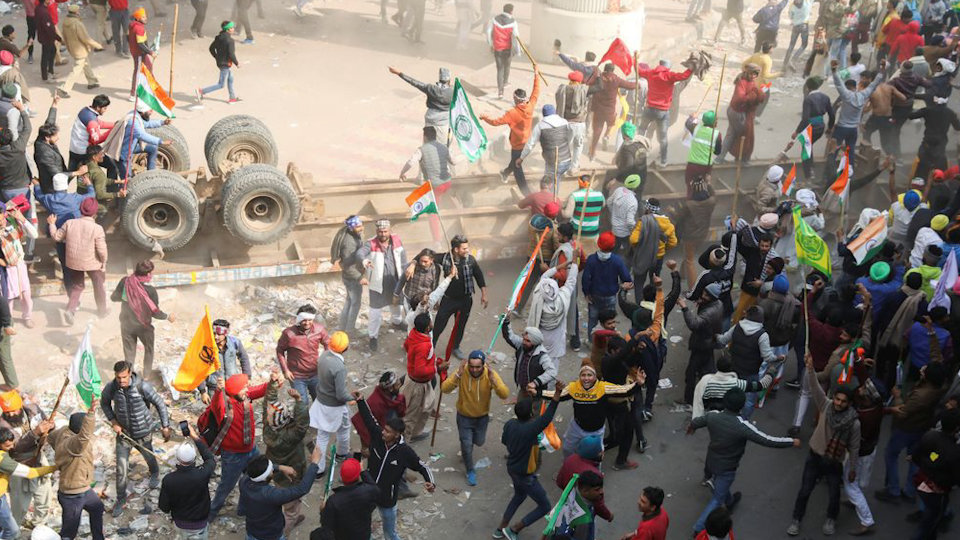 Are radicals misusing the Farmers' Protest for their Hidden Agenda?