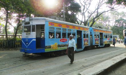 TRAMS THE PRIDE OF KOLKATA