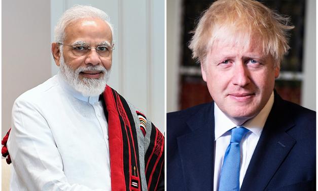 Bharat Yatra Bon Voyage Boris
