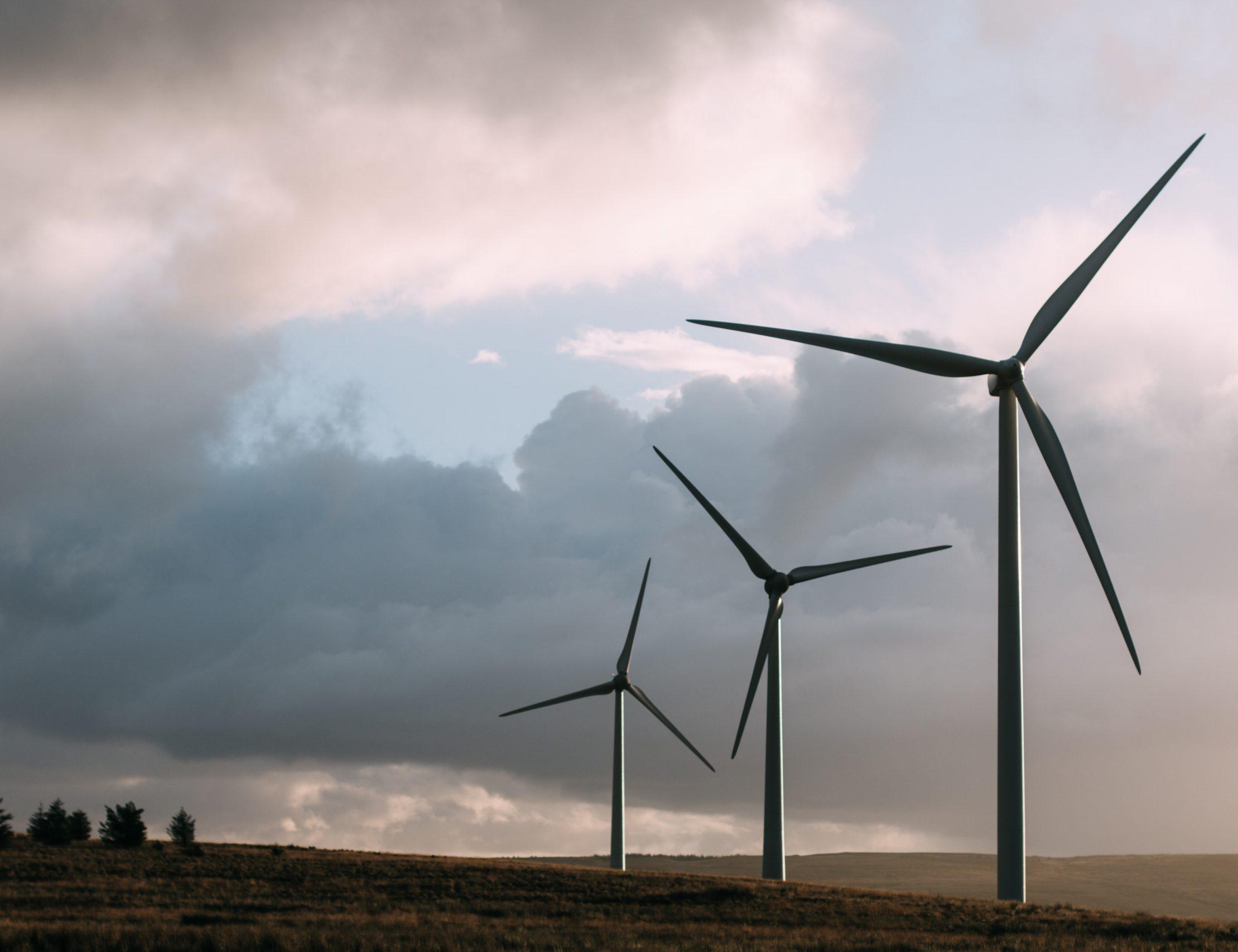 HOPPSAN FÖR MILJÖN: Det blåser friska vindar, men inte så att det räcker