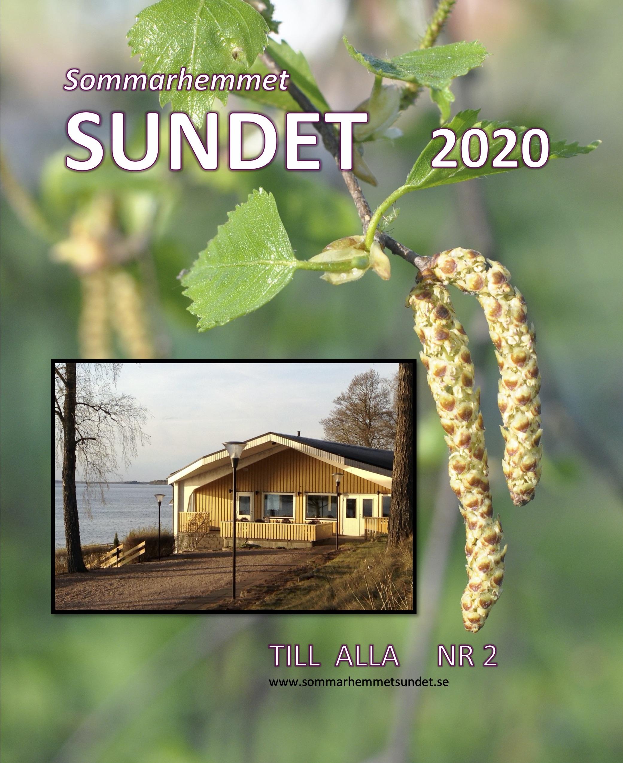 Sommarhemmet Sundet 2020