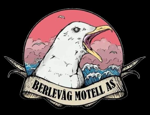 Bilde av logo til Berlevåg motell til booking siden.