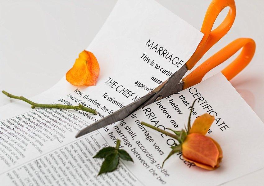marriage certificate divorce