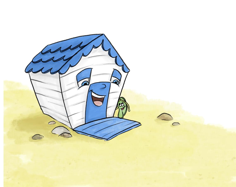 Bertie The Beach Hut