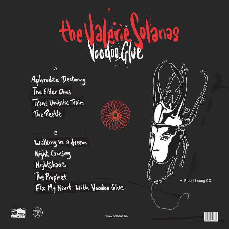 Voodoo Glue LP back