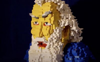 De Dagelijkse Lezy 201225 Fred Bervoets in Lego