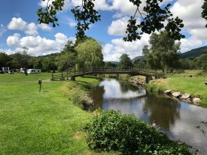 Parc Farm Caravan Park bridge