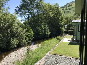 Riverside plots at Minafon Caravan Park