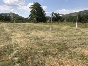 Small football pitch at Parc Farm