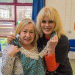 Joanna Lumley and Eileen Jubb