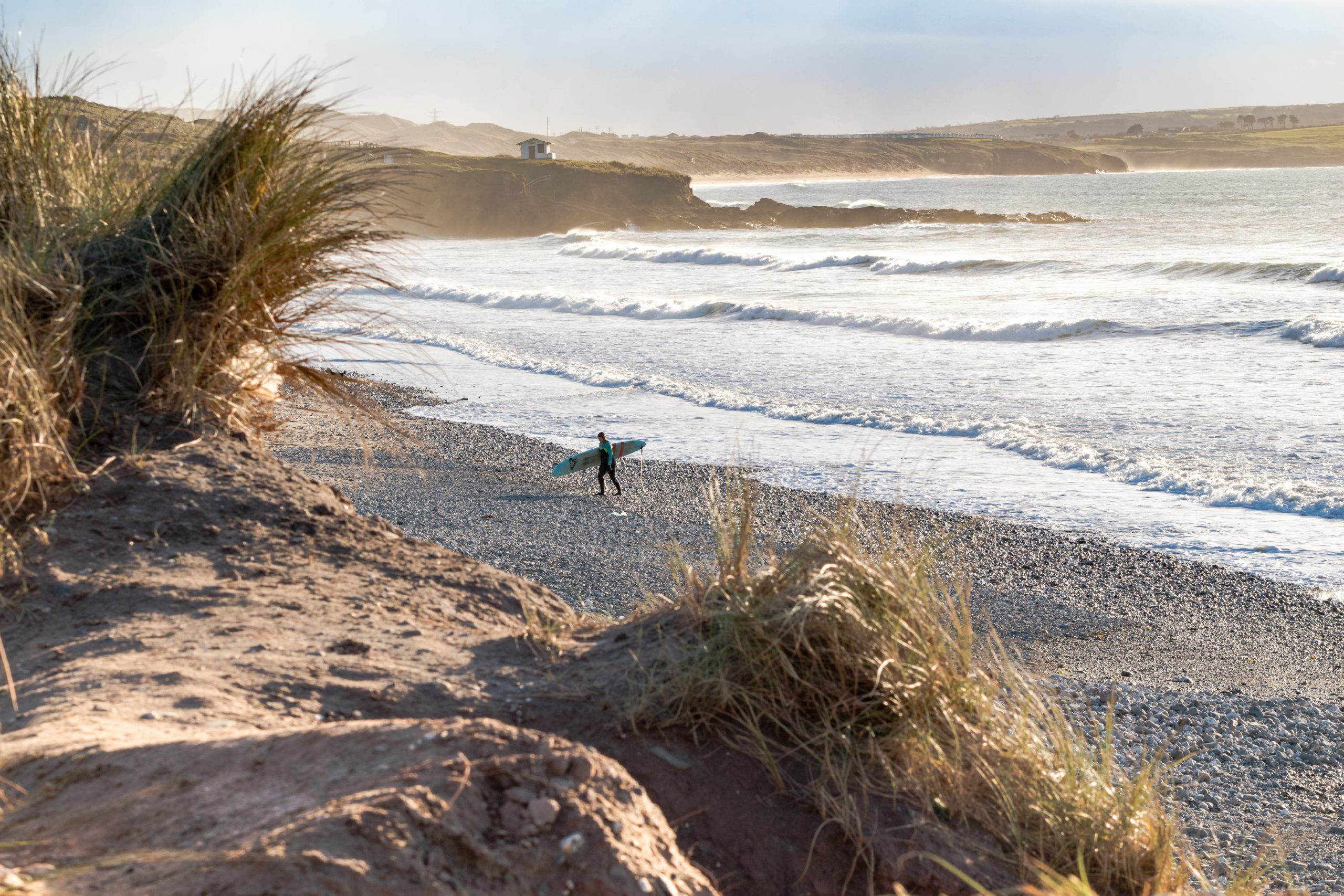 Best Places to Surf in Europe - Godrevy Beach