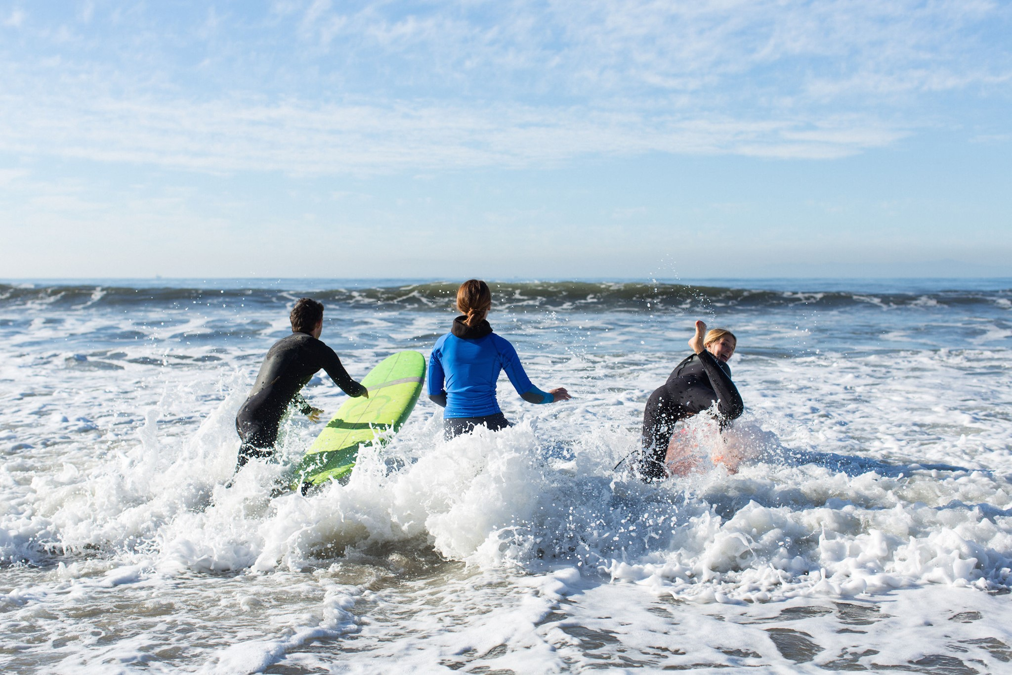 Learning to Surf in Santa Barbara