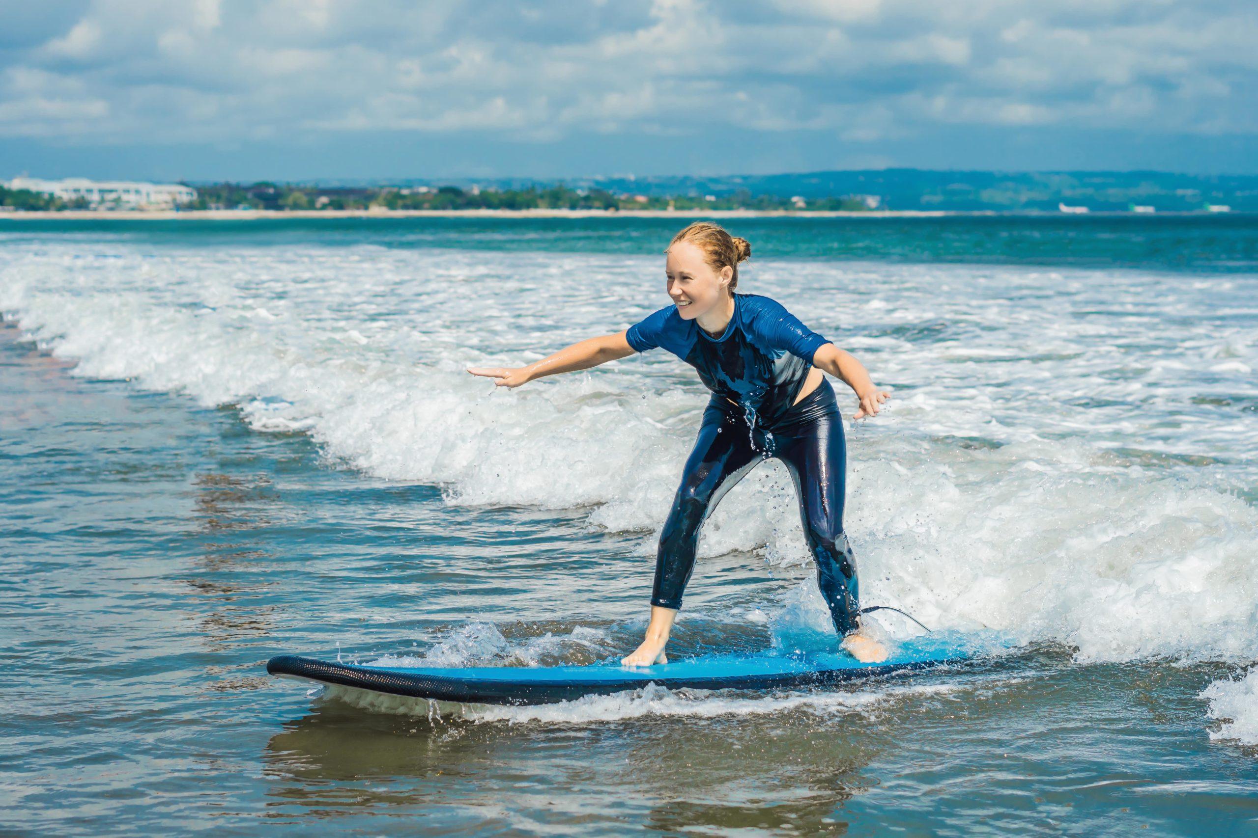 beginner surf spots in Lombok