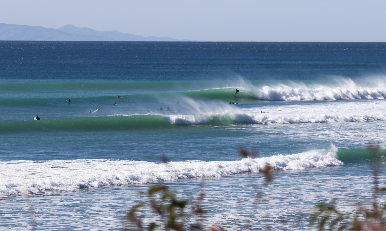 Surfing Malibu County Line