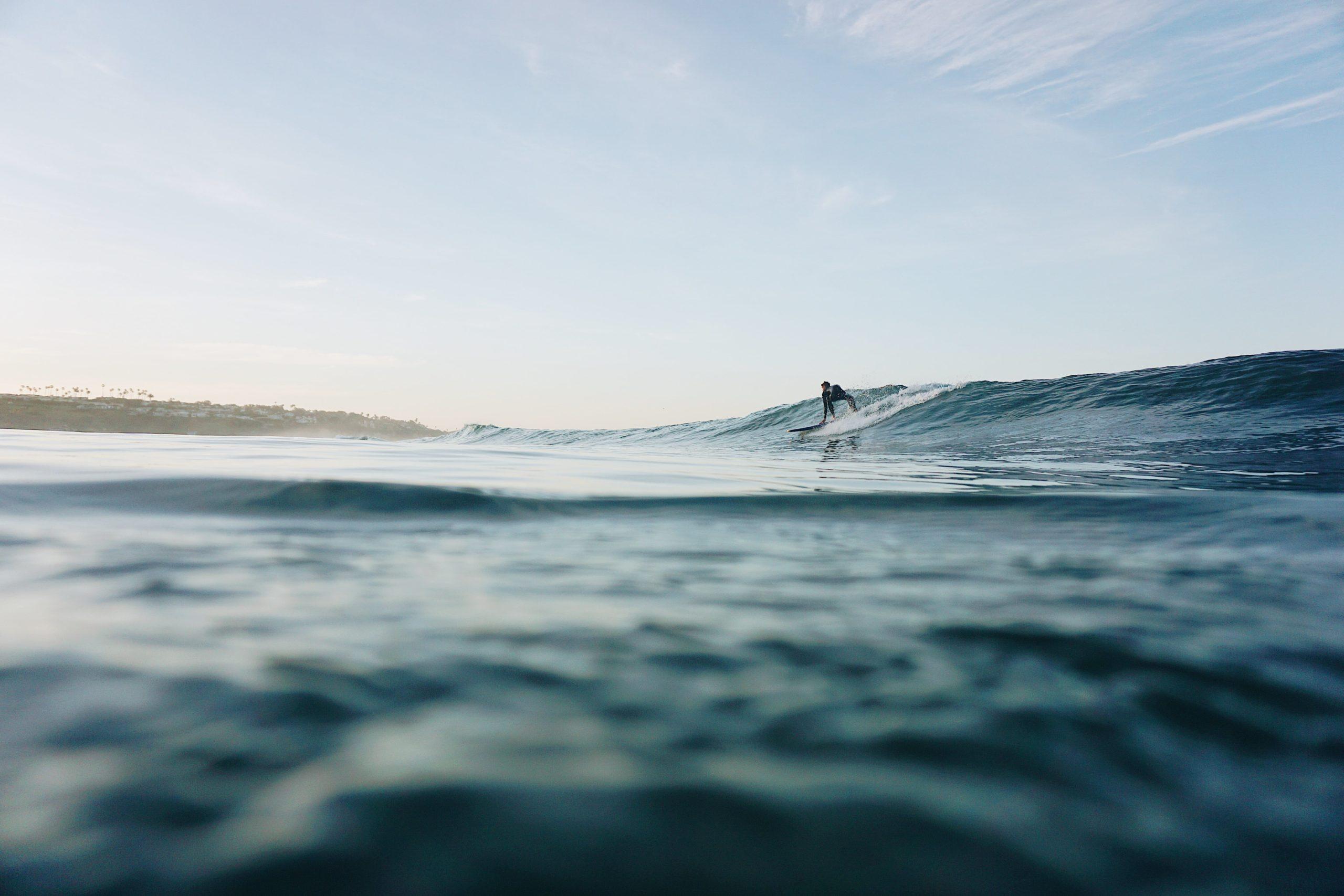 Surfing Malibu - Zuma Beach