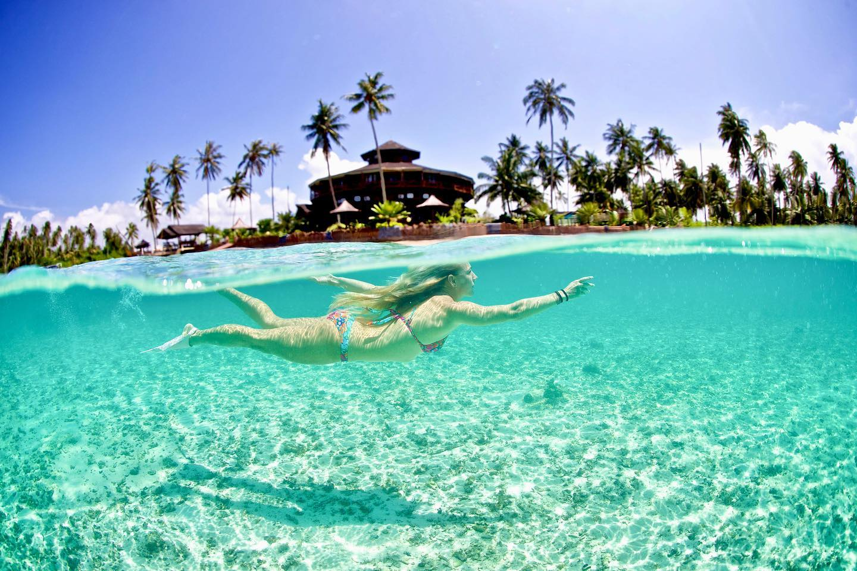 surf resort in the mentawai islands
