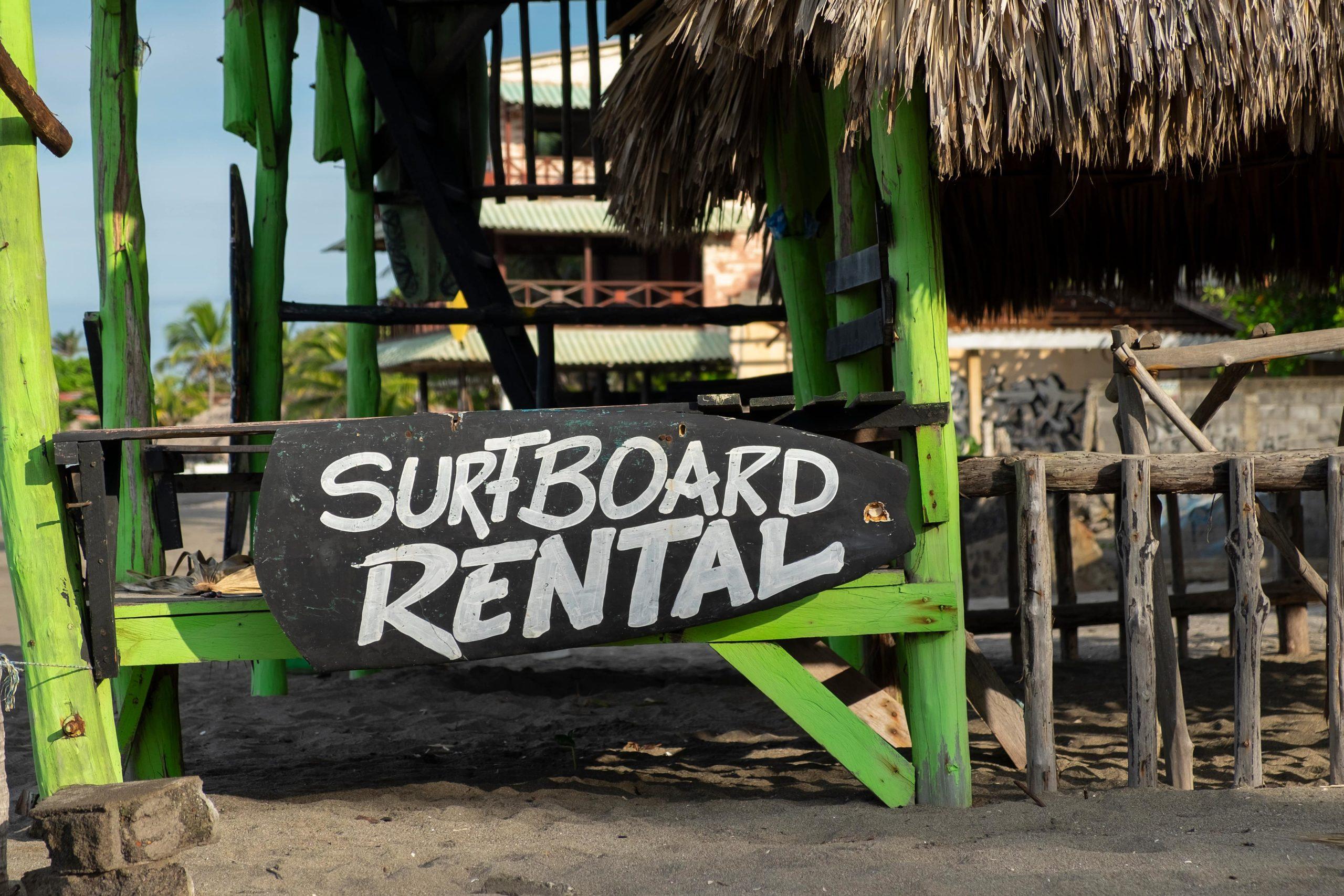 Surfboard hire nicaragua