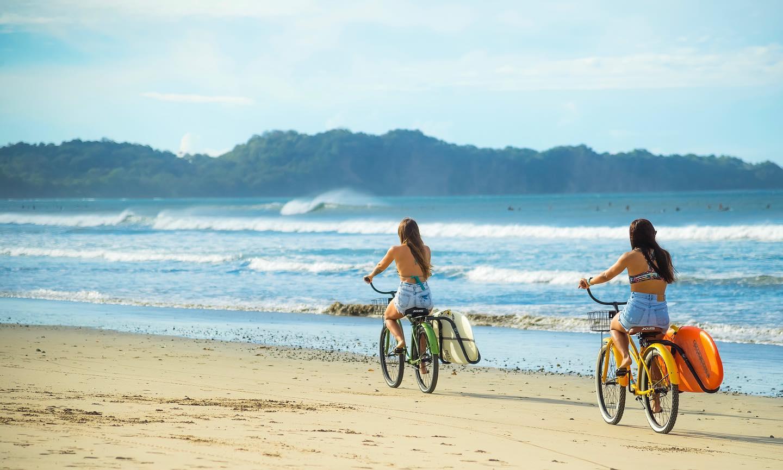Surfing Nosara in Costa Rica