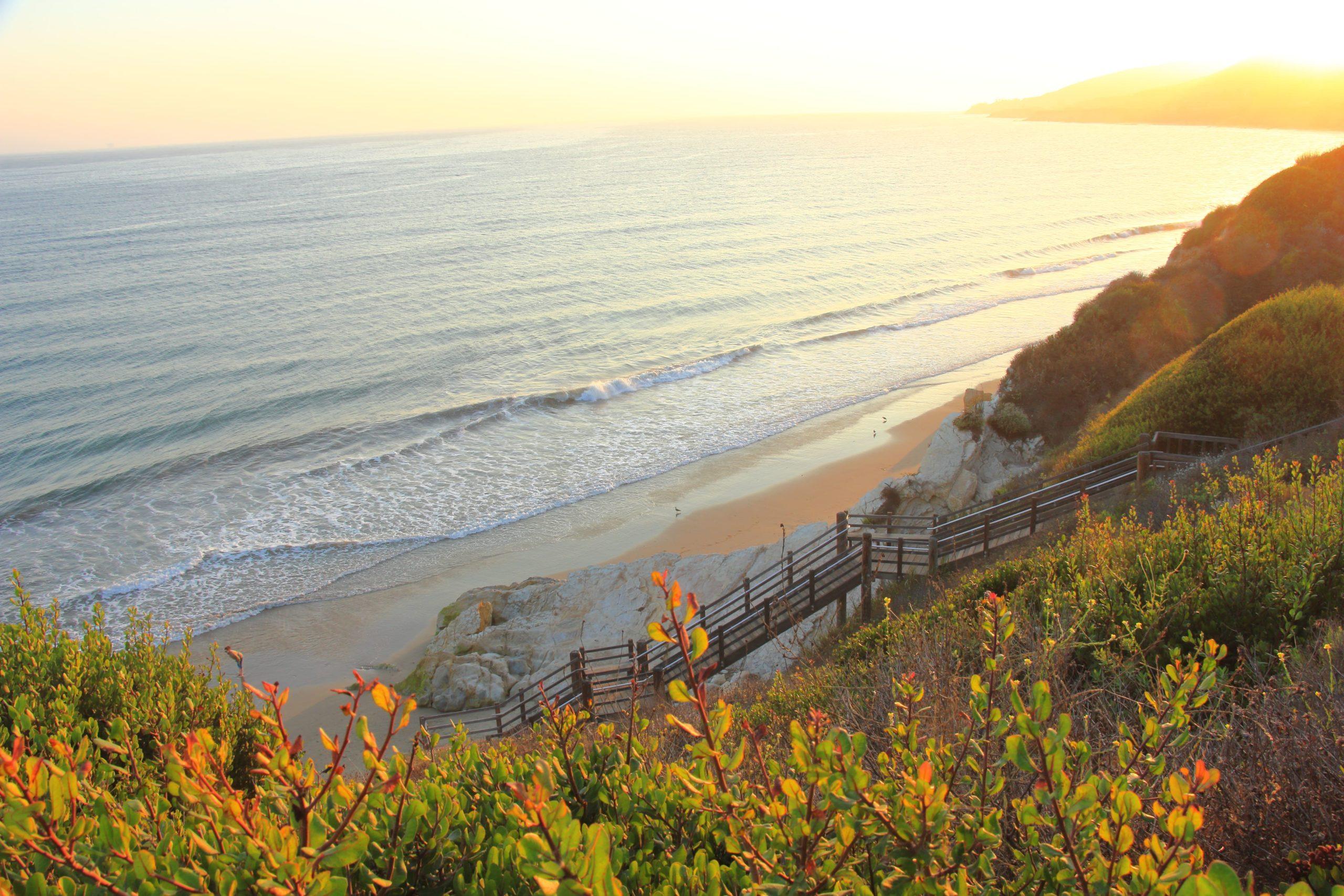 Surfing Santa Barbara - El Capitan State Beach