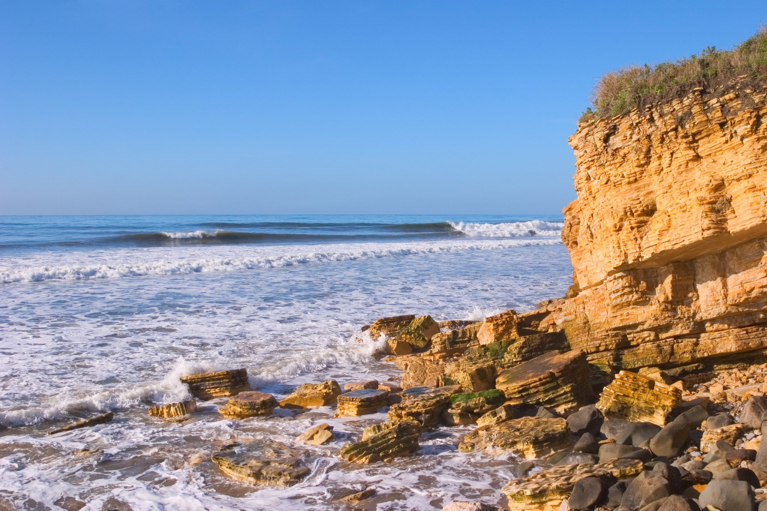 Surfing Santa Barbara - Refugio State Beach