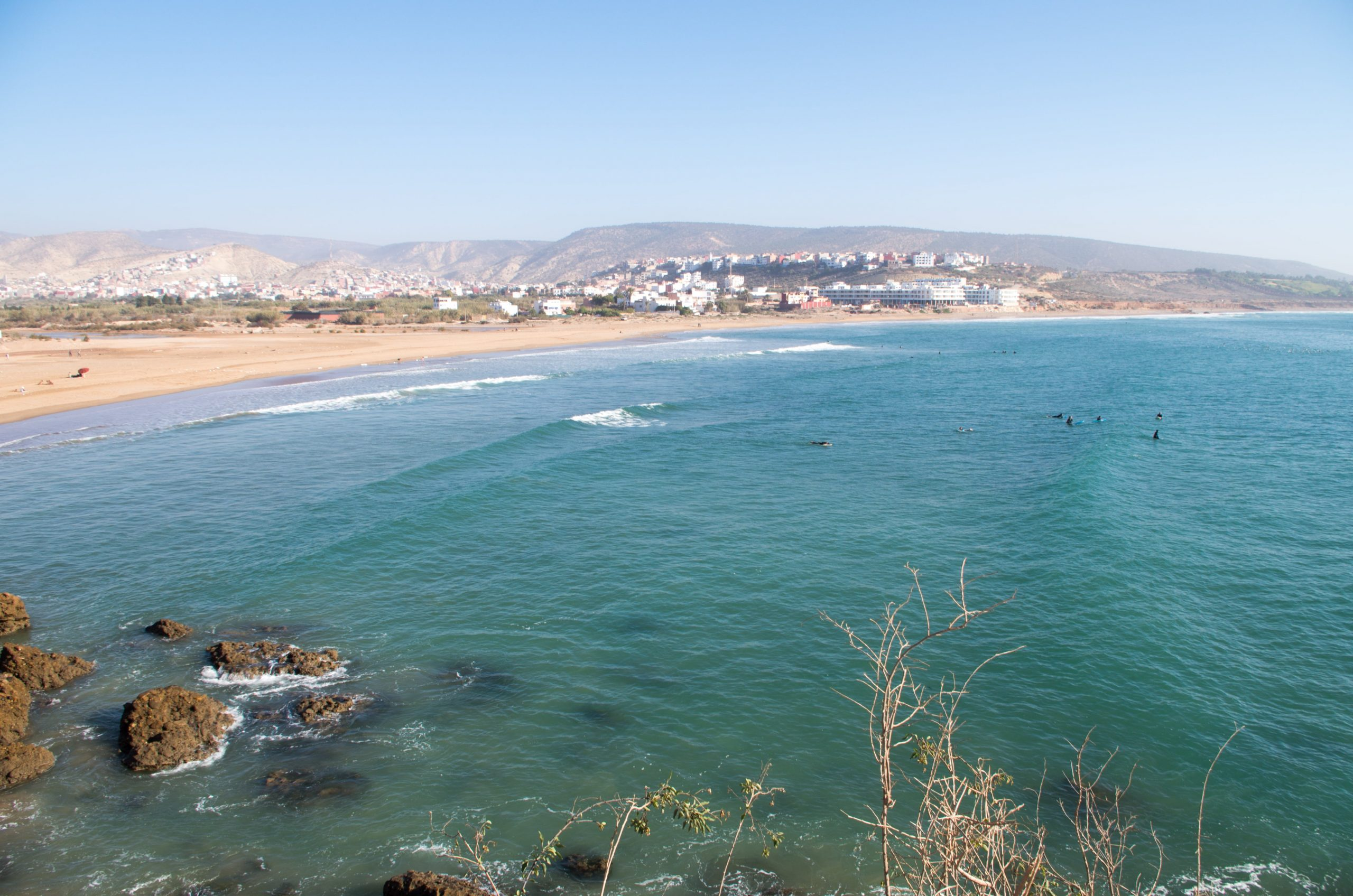surf spots in Taghazout