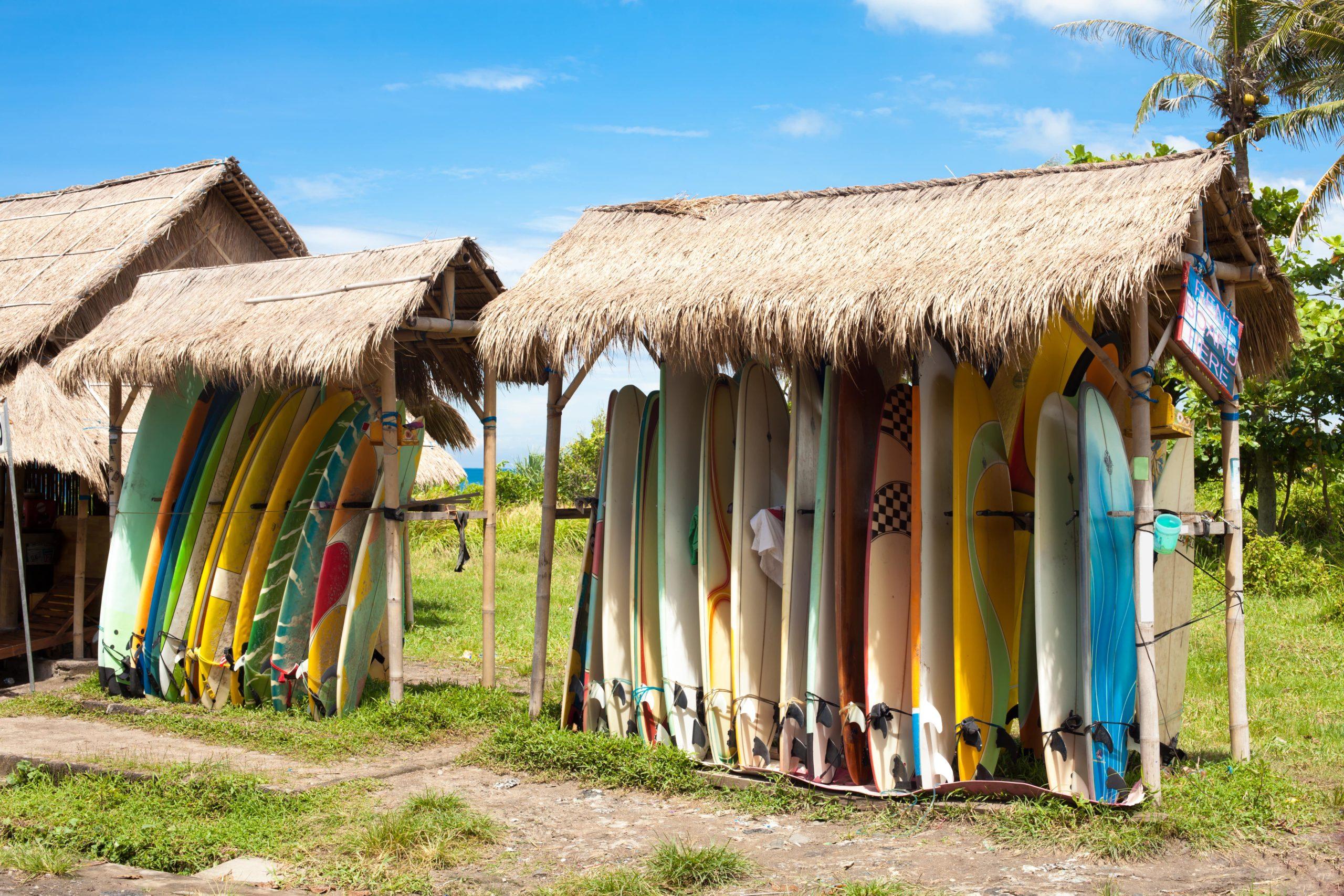 surfboard hire in Canggu