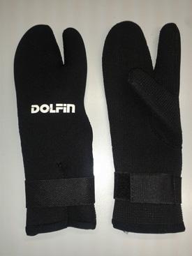 Dolphin 7mm 3 vinger handschoenen