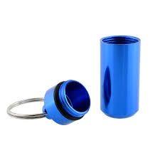 Waterdicht pillendoosje / sleutelhanger