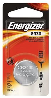 CR2430 Batterij 3volt knoopcel