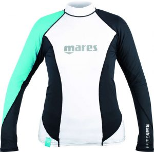 Mares Rash Guard L/S Loose Fit She Dives Aqua