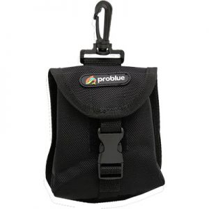 Problue loodpocket met bevestigingsclip (ook geschikt voor trimvestband )