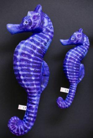 Gaby Zeepaard blauw (Seahorse Blue) viskussen