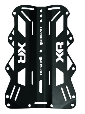 Mares XR Line Backplate Aluminium 3mm