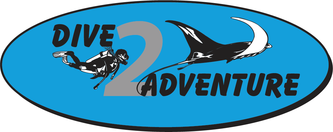 logo dive2adventure duikwinkel