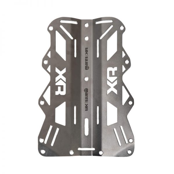 Mares XR-Line Backplate Stainless Steel 3mm